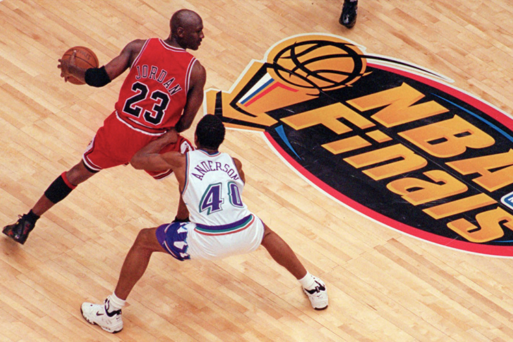 newest 70c15 084c2 Michael Jordan NBA Finals on DVD